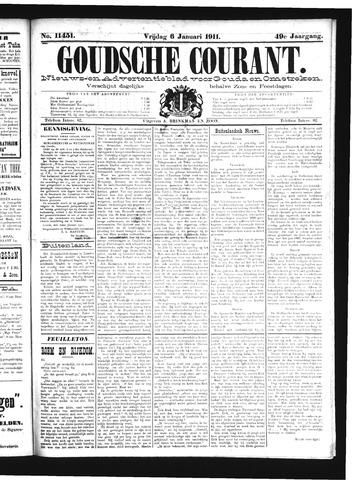 Goudsche Courant 1911-01-06