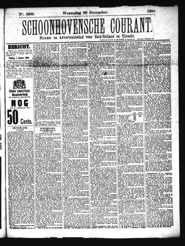 Schoonhovensche Courant 1908-12-30