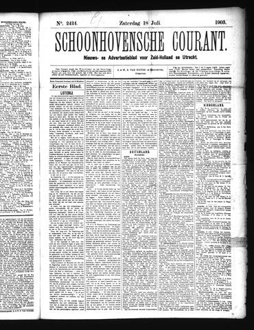 Schoonhovensche Courant 1903-07-18