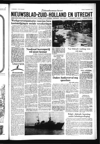 Schoonhovensche Courant 1966-09-30