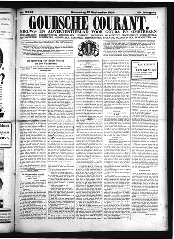 Goudsche Courant 1934-09-12