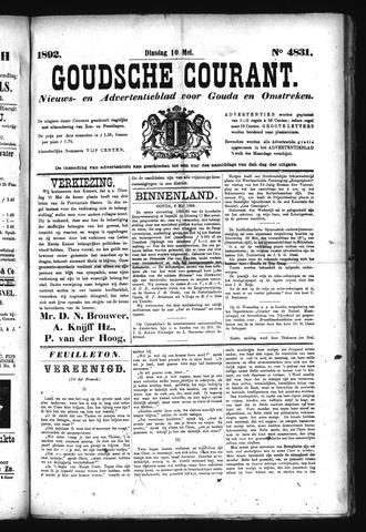 Goudsche Courant 1892-05-10