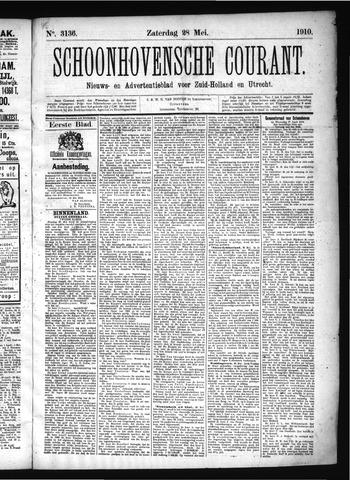Schoonhovensche Courant 1910-05-28