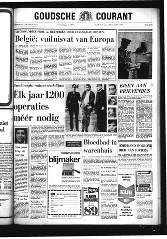 Goudsche Courant 1972-10-05