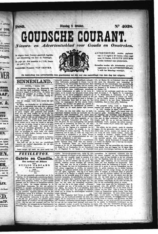 Goudsche Courant 1889-10-08