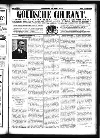 Goudsche Courant 1929-04-25