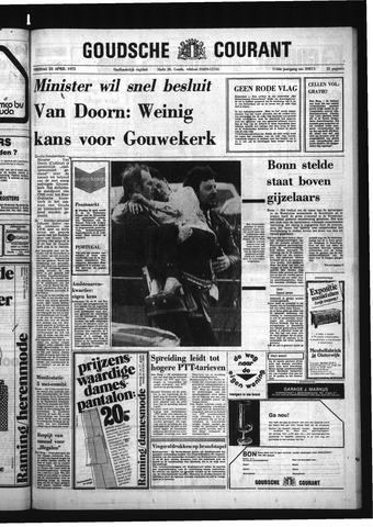 Goudsche Courant 1975-04-25