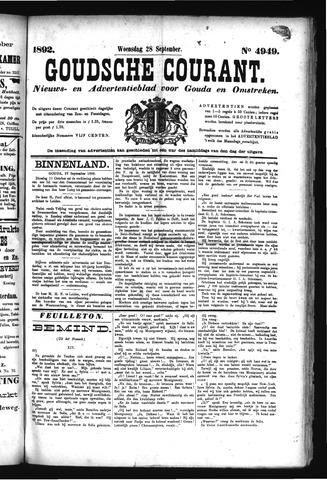 Goudsche Courant 1892-09-28