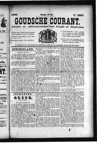 Goudsche Courant 1889-05-28