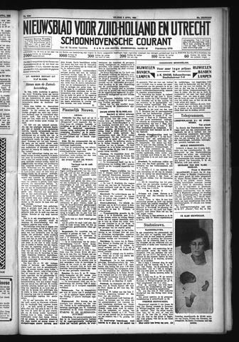 Schoonhovensche Courant 1932-04-08