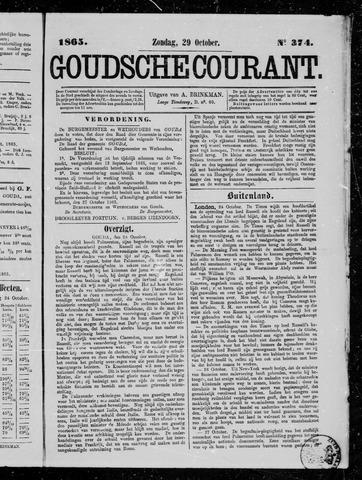 Goudsche Courant 1865-10-29