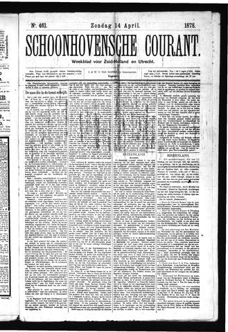 Schoonhovensche Courant 1878-04-14