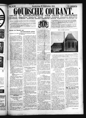 Goudsche Courant 1934-09-20