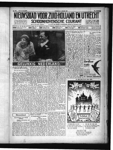 Schoonhovensche Courant 1937-01-06