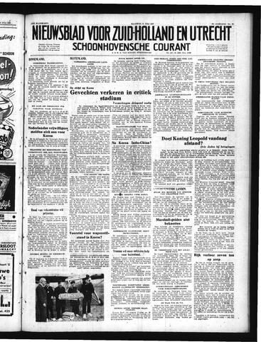 Schoonhovensche Courant 1950-07-31