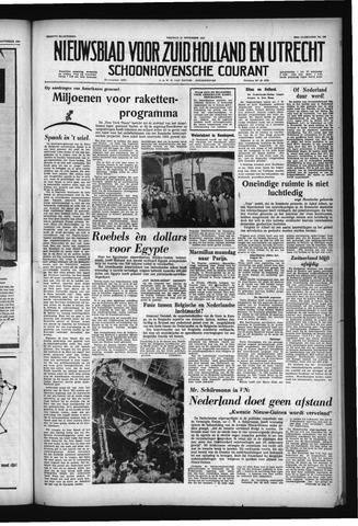 Schoonhovensche Courant 1957-11-22