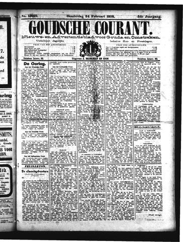 Goudsche Courant 1916-02-24