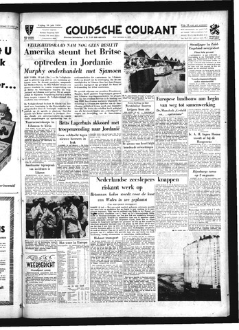 Goudsche Courant 1958-07-18