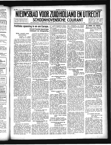 Schoonhovensche Courant 1941-05-19