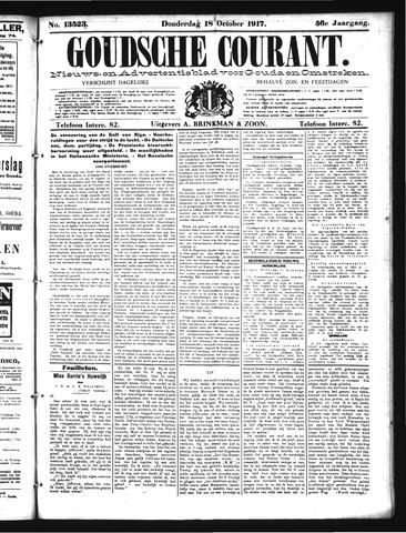 Goudsche Courant 1917-10-18