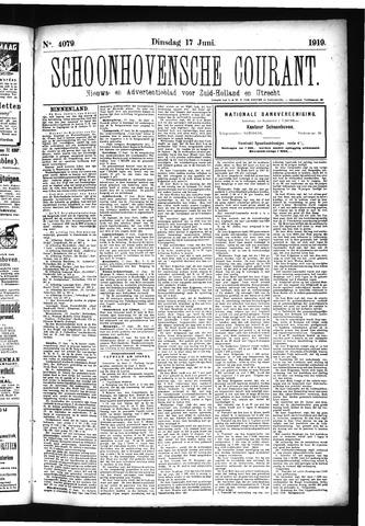 Schoonhovensche Courant 1919-06-17