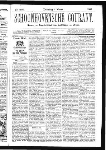 Schoonhovensche Courant 1905-03-04