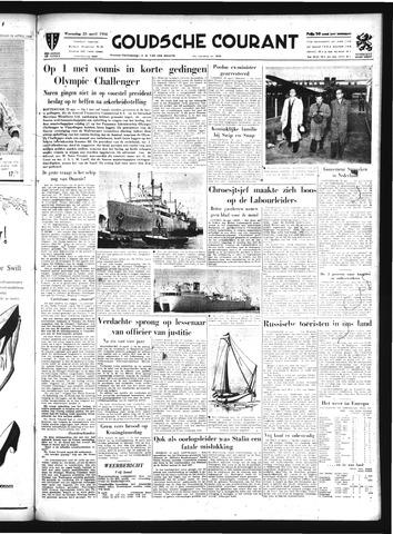 Goudsche Courant 1956-04-25