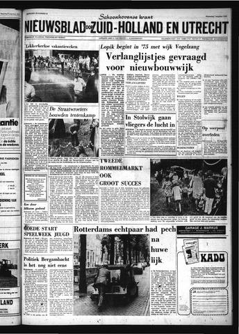 Schoonhovensche Courant 1974-08-07