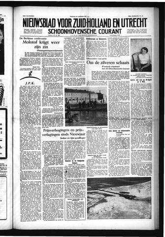 Schoonhovensche Courant 1954-01-29