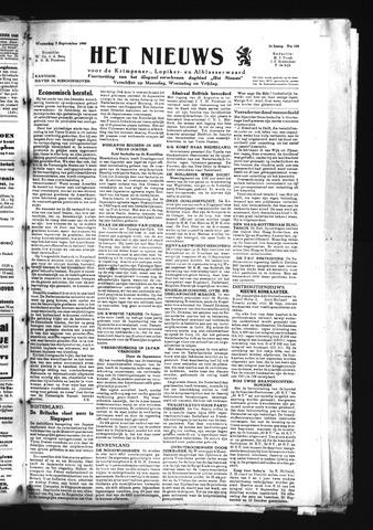 Schoonhovensche Courant 1945-09-05