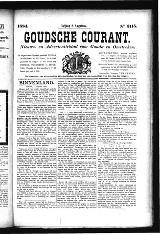 Goudsche Courant 1884-08-08