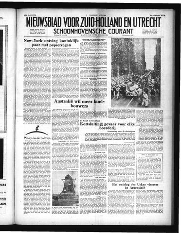 Schoonhovensche Courant 1952-04-09