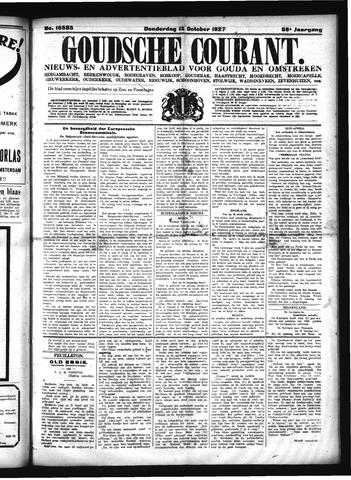 Goudsche Courant 1927-10-13