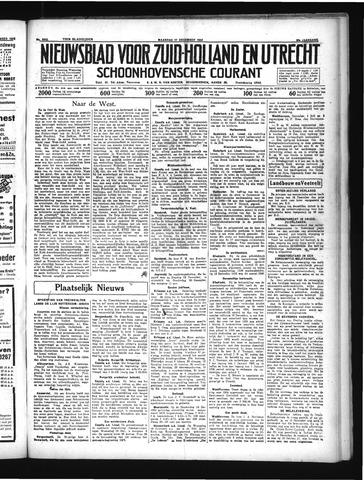 Schoonhovensche Courant 1934-12-17