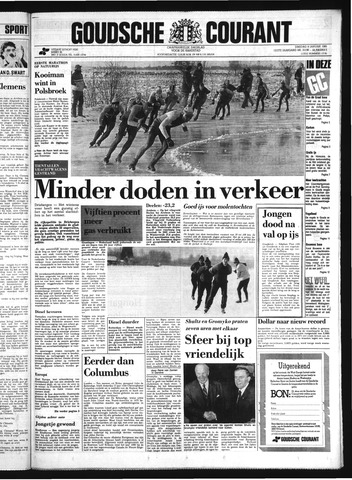 Goudsche Courant 1985-01-08