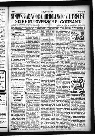 Schoonhovensche Courant 1928-10-08