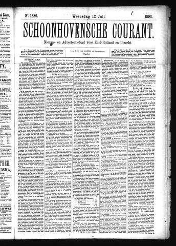 Schoonhovensche Courant 1893-07-12