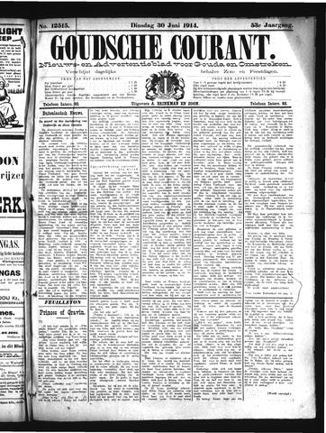 Goudsche Courant 1914-06-30