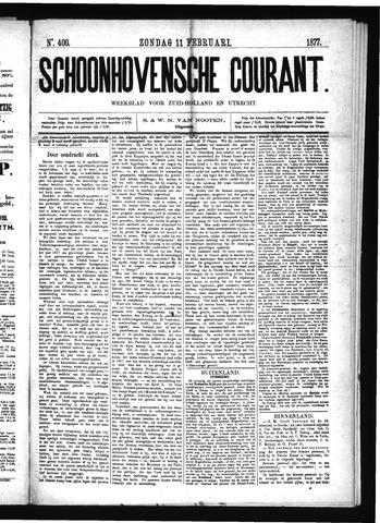 Schoonhovensche Courant 1877-02-11