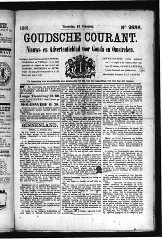Goudsche Courant 1881-11-16