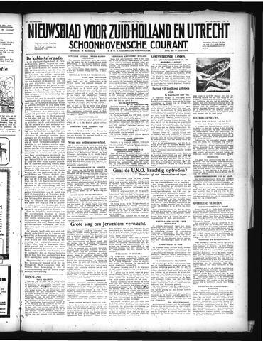 Schoonhovensche Courant 1948-07-14