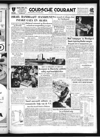 Goudsche Courant 1957-02-09