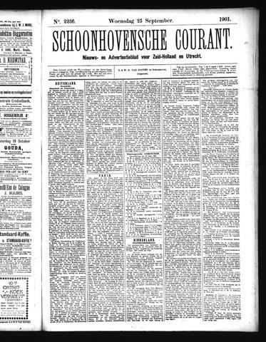 Schoonhovensche Courant 1901-09-25
