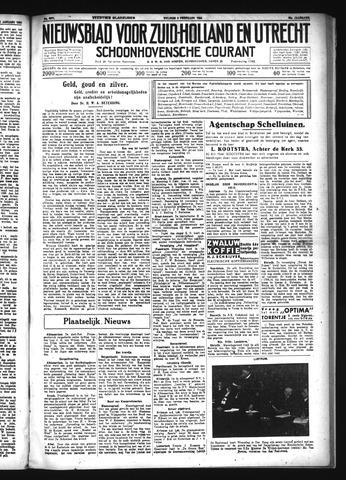 Schoonhovensche Courant 1934-02-02