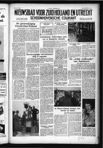 Schoonhovensche Courant 1957-09-02
