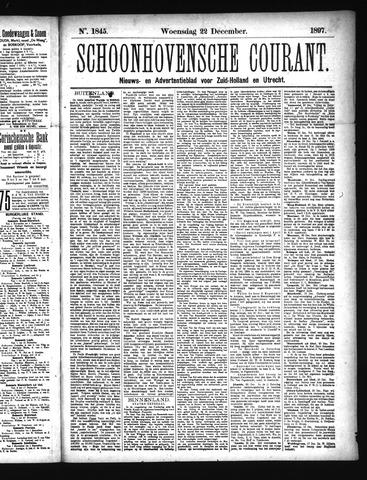 Schoonhovensche Courant 1897-12-22