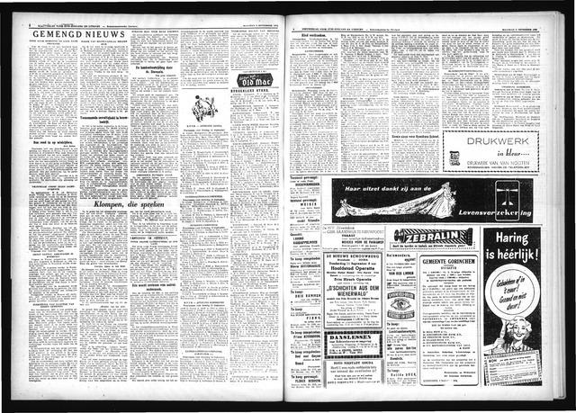 Schoonhovensche Courant 1952-09-08