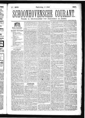 Schoonhovensche Courant 1908-07-04