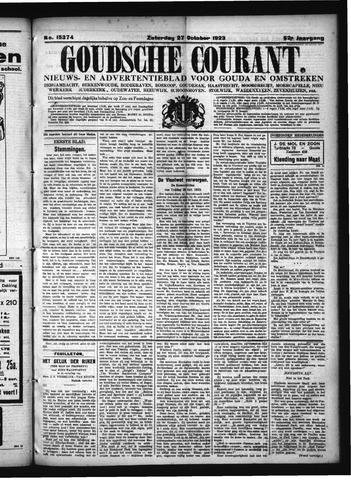 Goudsche Courant 1923-10-27