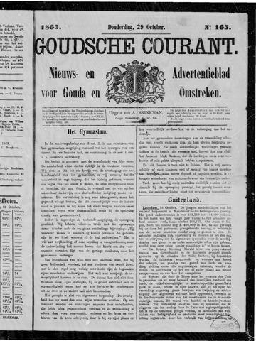 Goudsche Courant 1863-10-29